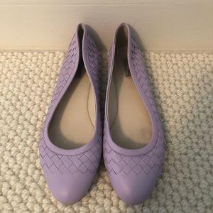 Bottega Veneta Lilac Flats